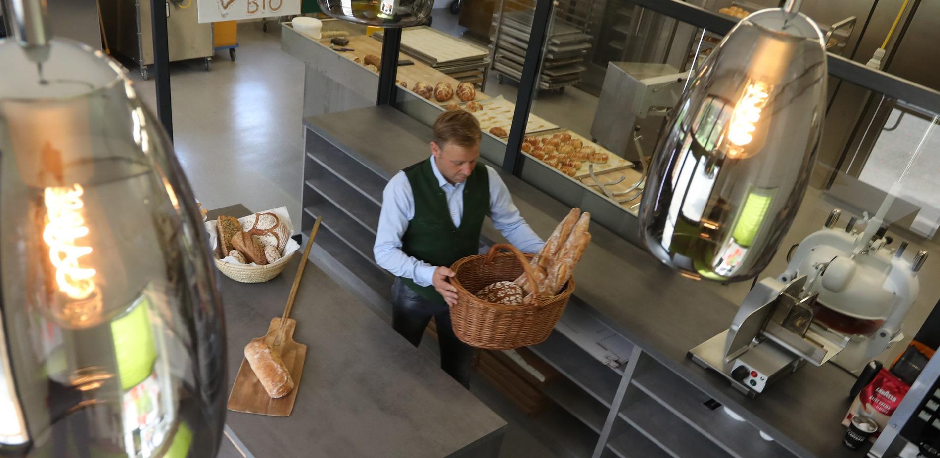 Backstubn Wald am Schoberpaß - transparente Bäckerei